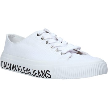 Παπούτσια Γυναίκα Χαμηλά Sneakers Calvin Klein Jeans B4R0807X λευκό
