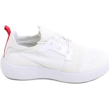 Παπούτσια Γυναίκα Χαμηλά Sneakers Calvin Klein Jeans RE9809 λευκό