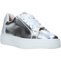 Παπούτσια Γυναίκα Χαμηλά Sneakers Love To Love TER32 Ασήμι