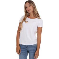 Υφασμάτινα Γυναίκα T-shirt με κοντά μανίκια Ea7 Emporio Armani 8NTT64 TJ28Z λευκό