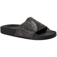 Παπούτσια Γυναίκα σαγιονάρες Chiara Pacini C18E2506 Μαύρος