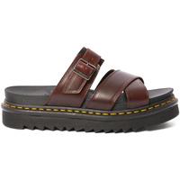 Παπούτσια Γυναίκα Σανδάλια / Πέδιλα Dr Martens DMSRYKCHBR24515211 καφέ