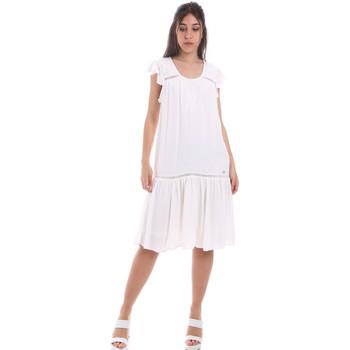 Υφασμάτινα Γυναίκα Κοντά Φορέματα Gaudi 011BD15015 λευκό