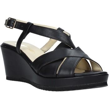 Παπούτσια Γυναίκα Σανδάλια / Πέδιλα Esther Collezioni ZB 018 Μαύρος