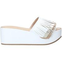 Παπούτσια Γυναίκα Τσόκαρα Grace Shoes C21 λευκό