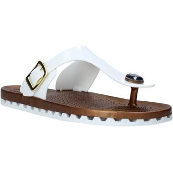 Παπούτσια Γυναίκα Σαγιονάρες Sensi 4050/P λευκό