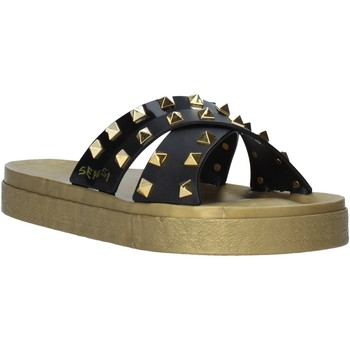 Παπούτσια Γυναίκα Τσόκαρα Sensi 4390/PY Μαύρος