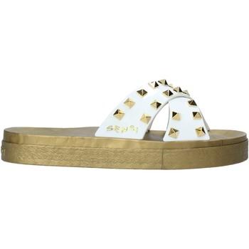 Παπούτσια Γυναίκα Τσόκαρα Sensi 4390/PY λευκό