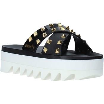 Παπούτσια Γυναίκα Τσόκαρα Sensi 4380/LX Μαύρος