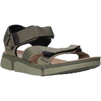 Παπούτσια Άνδρας Σανδάλια / Πέδιλα Clarks 26139564 Πράσινος