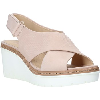 Παπούτσια Γυναίκα Σανδάλια / Πέδιλα Clarks 26141165 Ροζ