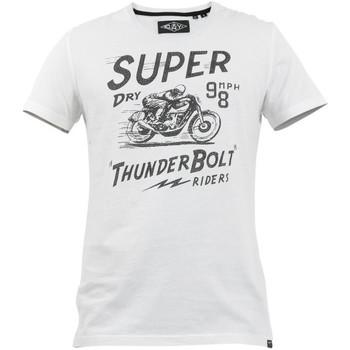Υφασμάτινα Άνδρας T-shirt με κοντά μανίκια Superdry M1010259A λευκό