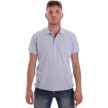 Υφασμάτινα Άνδρας Πόλο με κοντά μανίκια  Navigare NV82108 Μπλε