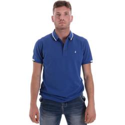 Υφασμάτινα Άνδρας Πόλο με κοντά μανίκια  Navigare NV82113 Μπλε