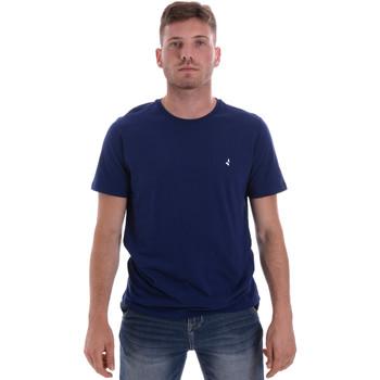 Υφασμάτινα Άνδρας T-shirt με κοντά μανίκια Navigare NV31126 Μπλε