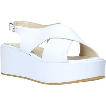 Παπούτσια Γυναίκα Σανδάλια / Πέδιλα Esther Collezioni Z039 λευκό