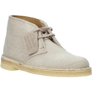 Παπούτσια Γυναίκα Μπότες Clarks 26132035 Μπεζ