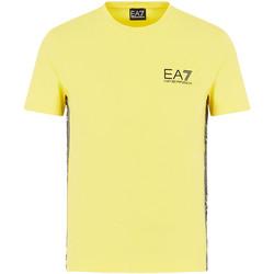 Υφασμάτινα Άνδρας T-shirt με κοντά μανίκια Emporio Armani EA7 3HPT07 PJ03Z Κίτρινος