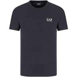 Υφασμάτινα Άνδρας T-shirt με κοντά μανίκια Emporio Armani EA7 8NPT51 PJM9Z Μπλε