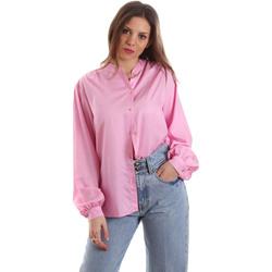 Υφασμάτινα Γυναίκα Πουκάμισα Versace B0HVB62307619445 Ροζ