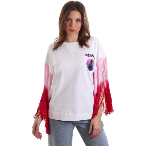 Υφασμάτινα Γυναίκα T-shirt με κοντά μανίκια Versace B2HVB71511701003 λευκό