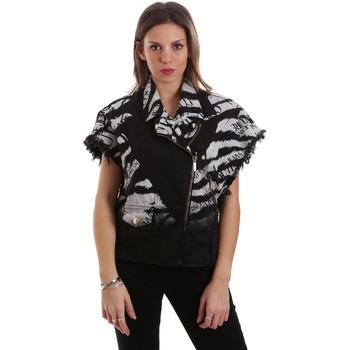 Υφασμάτινα Γυναίκα Μπουφάν Versace C0HVB92DHRC5X899 Μαύρος