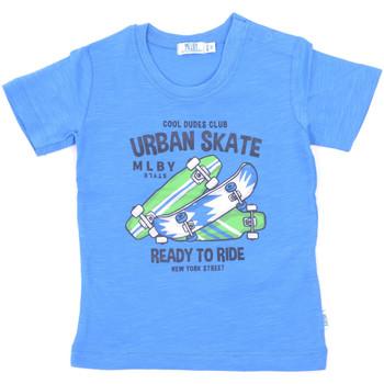 Υφασμάτινα Παιδί T-shirt με κοντά μανίκια Melby 20E7370 Μπλε