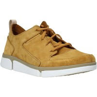 Παπούτσια Άνδρας Χαμηλά Sneakers Clarks 26139571 Κίτρινος