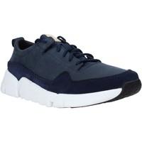 Παπούτσια Άνδρας Χαμηλά Sneakers Clarks 26141432 Μπλε