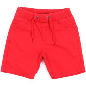 Υφασμάτινα Παιδί Σόρτς / Βερμούδες Losan 015-9657AL το κόκκινο