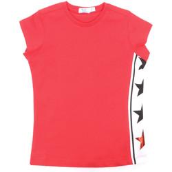Υφασμάτινα Κορίτσι T-shirt με κοντά μανίκια Melby 70E5645 το κόκκινο