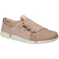 Παπούτσια Γυναίκα Χαμηλά Sneakers Clarks 131761 Ροζ