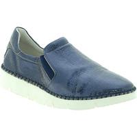Παπούτσια Γυναίκα Slip on Mally 5711 Μπλε