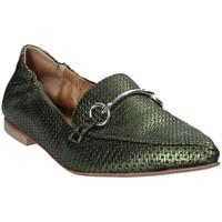 Παπούτσια Γυναίκα Μοκασσίνια Mally 6264 Πράσινος