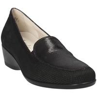 Παπούτσια Γυναίκα Μοκασσίνια Melluso R30506E Μαύρος