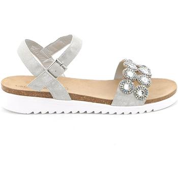 Παπούτσια Γυναίκα Σανδάλια / Πέδιλα Grunland SB1582 Ασήμι