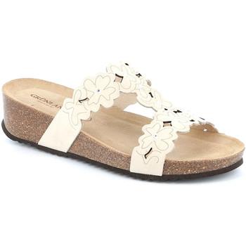 Παπούτσια Γυναίκα Τσόκαρα Grunland CB2491 λευκό