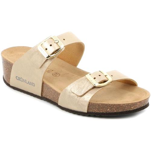 Παπούτσια Γυναίκα Τσόκαρα Grunland CB2494 Μπεζ