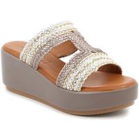 Παπούτσια Γυναίκα Τσόκαρα Grunland CI2853 Μπεζ