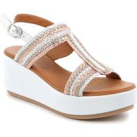 Παπούτσια Γυναίκα Σανδάλια / Πέδιλα Grunland SA2489 Ασήμι