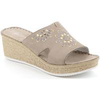 Παπούτσια Γυναίκα Τσόκαρα Grunland CI1770 Μπεζ