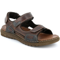 Παπούτσια Άνδρας Σανδάλια / Πέδιλα Grunland SA2526 καφέ