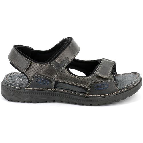 Παπούτσια Άνδρας Σανδάλια / Πέδιλα Grunland SA2526 Μαύρος