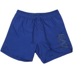 Υφασμάτινα Άνδρας Μαγιώ / shorts για την παραλία Ea7 Emporio Armani 902000 0P738 Μπλε