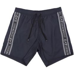 Υφασμάτινα Άνδρας Μαγιώ / shorts για την παραλία Ea7 Emporio Armani 902000 0P734 Μπλε