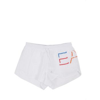 Υφασμάτινα Άνδρας Μαγιώ / shorts για την παραλία Ea7 Emporio Armani 902024 0P739 λευκό