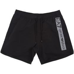 Υφασμάτινα Άνδρας Μαγιώ / shorts για την παραλία Emporio Armani EA7 902000 0P732 Μαύρος