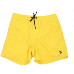Υφασμάτινα Άνδρας Μαγιώ / shorts για την παραλία U.S Polo Assn. 56488 52458 Κίτρινος