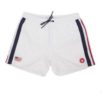 Υφασμάτινα Άνδρας Μαγιώ / shorts για την παραλία U.S Polo Assn. 58450 52458 λευκό