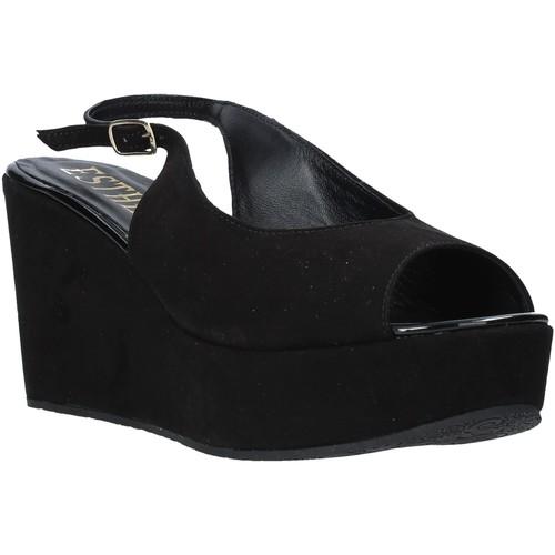 Παπούτσια Γυναίκα Σανδάλια / Πέδιλα Esther Collezioni ZC 042 Μαύρος